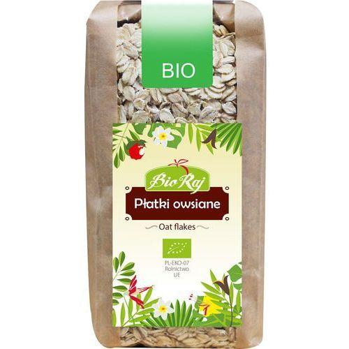 Płatki owsiane grube bio 350g marki Bio raj