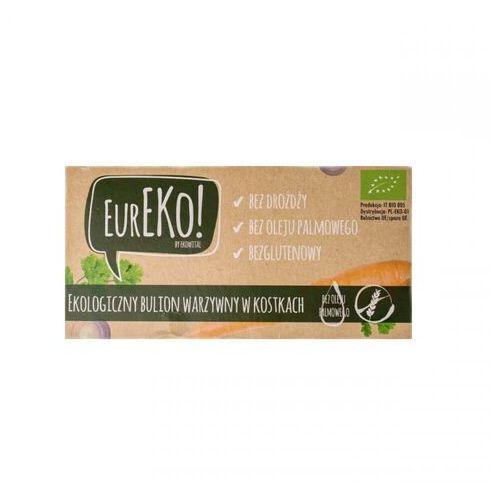 Bulion warzywny w kostkach bez drożdży bez oleju palmowego bezglutenowy bio 100 g marki Eureko