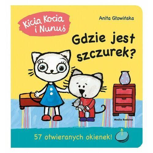 Anita Głowińska - Kicia Kocia i Nunuś. Gdzie jest sznurek?
