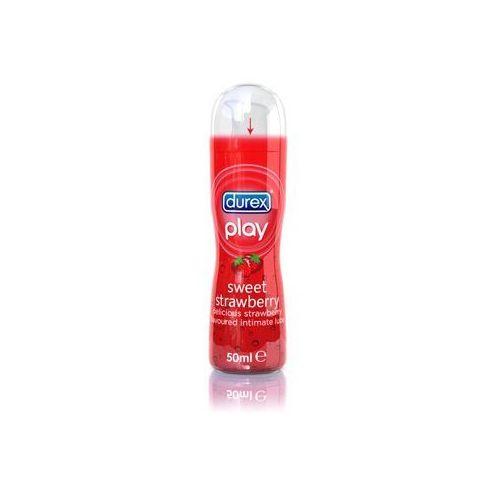 SexShop - Durex Play smakowy żel intymny nawilżający Sweet Strawberry Lubricant 50 ml - online