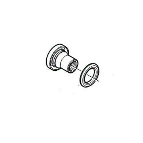 Stożek piasty przód hbm 755/whm 575 lewy/prawy z kapą i uszczelniaczem deore marki Shimano