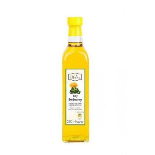 Ol'vita Olej krokoszowy zimno tłoczony 250 ml