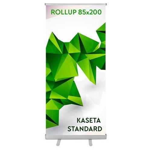 Roll-up standard (85 x 200 cm) z wydrukiem marki Agi.pl reklama