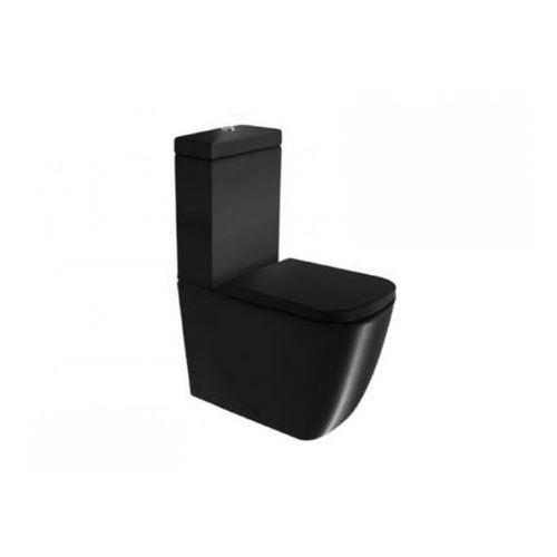 Globo Concept Miska wc kompakt stojąca - czarna matowa SS003.AR - sprawdź w wybranym sklepie