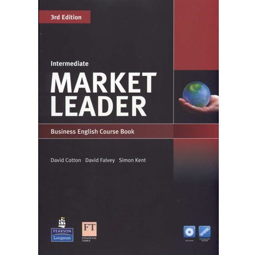 Market Leader 3rd Edition Intermediate, Coursebook (podręcznik) plus DVD-ROM, Cotton David
