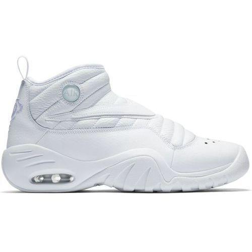 Nike Buty air shake ndestrukt triple white - 880869-101