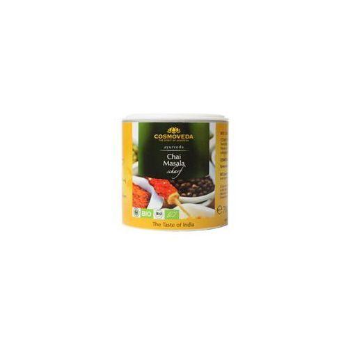 Masala Chai pikantna mieszanka przypraw do indyjskiej herbaty ORGANICZNA 80g Cosmoveda, 4032108123851