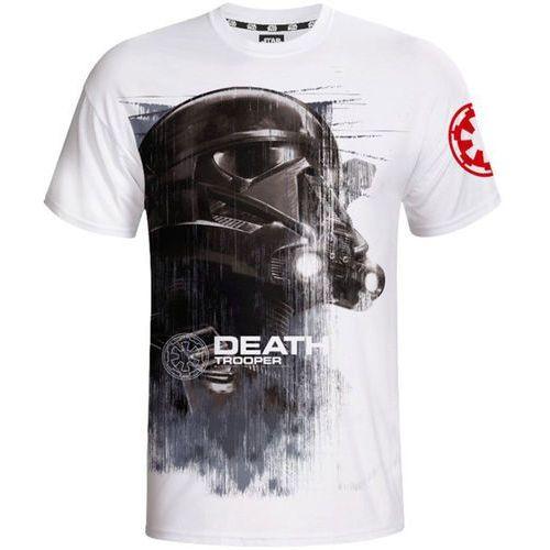 Koszulka star wars death trooper (rozmiar s) biały + wybierz gadżet star wars gratis do zakupionej gry! marki Good loot