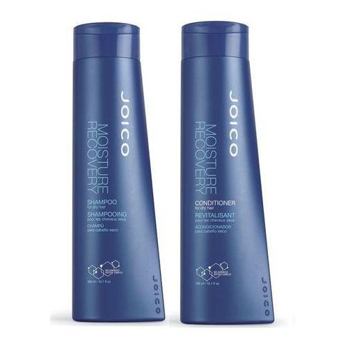 Joico moisture recovery zestaw do włosów suchych | szampon 300ml + odżwka 300 ml (0744694273332)