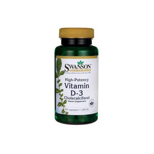 Tabletki SWANSON Witamina D-3, 250 tabl