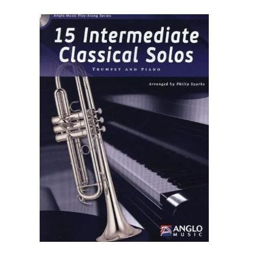 15 Intermediate Classical Solos, für Trompete + Klavier, m. Audio-CD