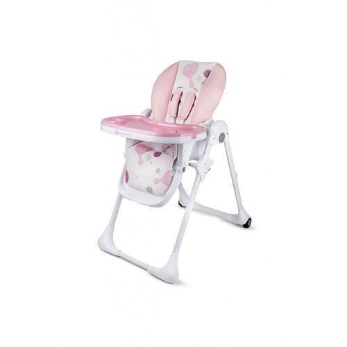 Krzesełko do karmienia Yummy pink 5O35EE