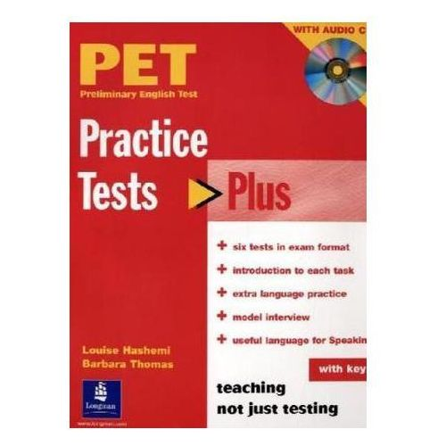 Practice Tests Plus PET 1 with key with Audio CD Longman (2005)