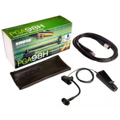 Shure pga98h tqg mikrofon pojemnościowy do zestawów bezprzewodowych, instrumentalny