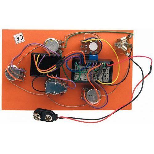 Bartolini HR-5.2/918 - Pre-Wired Active Preamp, 3-Band EQ