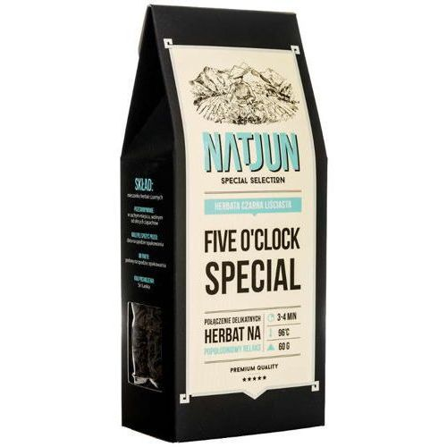 herbata czarna five o'clock special 60g marki Natjun