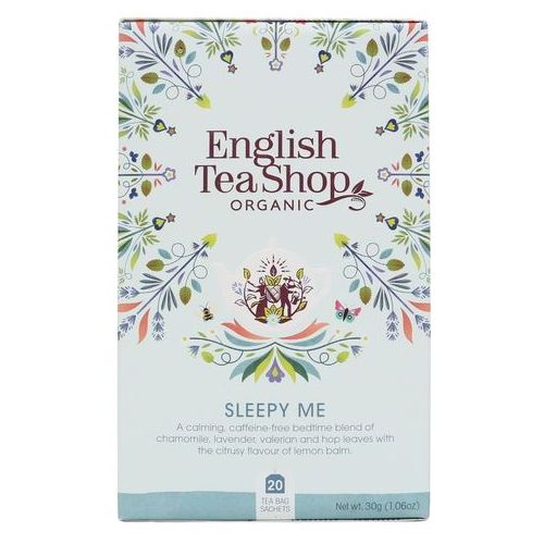 English tea sho Herbatka ziołowa sleepy me 20x1,5 g bio 30 g p