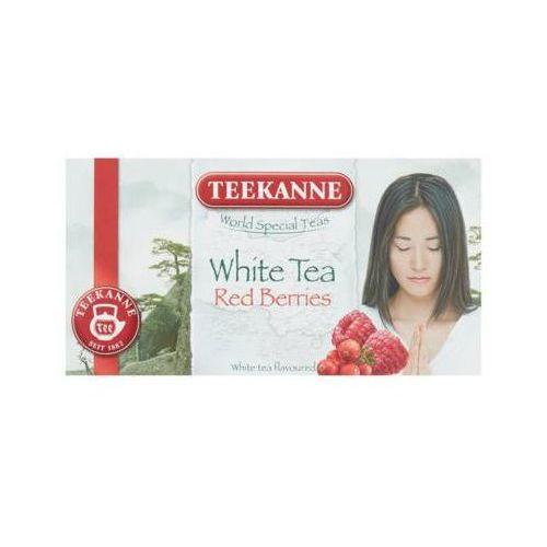 Teekanne 20x1,25g world special teas żurawina i malina herbata biała