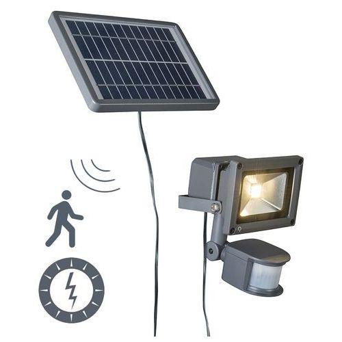 Projektor Solar LED Strain ciemnoszary - produkt dostępny w lampyiswiatlo.pl