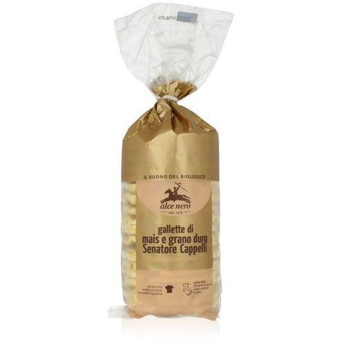 Wafle kukurydziane z pszenicą durum senatore cappelli bio 100 g - alce nero marki Alce nero (włoskie produkty)