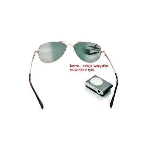 Szpiegowskie okulary agenta fbi z widokiem do tyłu!! marki Spy electronics ltd.