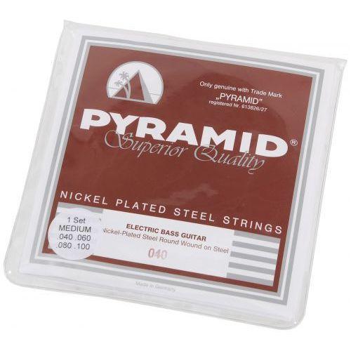 803 nickel-plated steels struny do gitary basowej 40-100 marki Pyramid