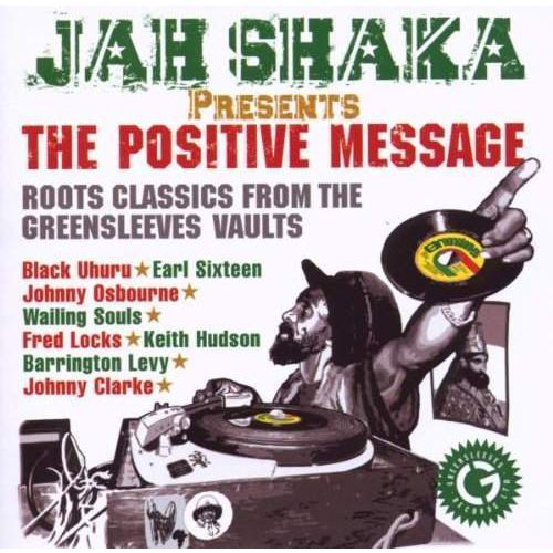 ***deleted*** presents the positive message - jah shaka (płyta cd) marki Greensleeves