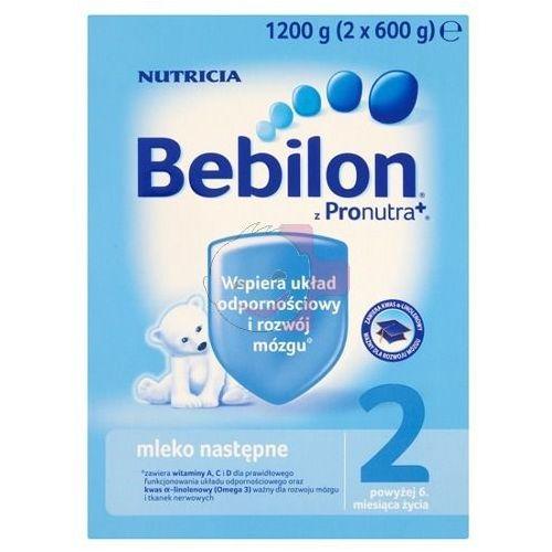 Bebilon 2 z Pronutra+ mleko modyfikowane ZESTAW 6x1200g, BEBILON (Nutricia) z Apteka Dziecka