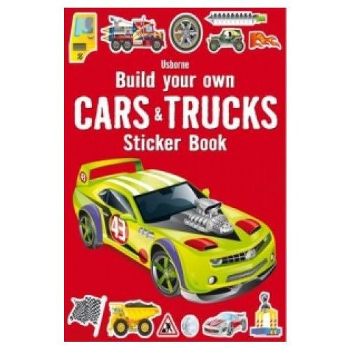 Build Your Own Cars and Trucks Sticker Book, Tudhope, Simon