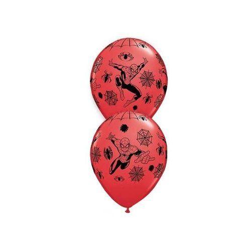 Go Balony urodzinowe spiderman - 30 cm - 6 szt.