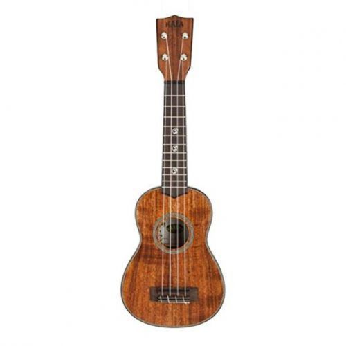 Kala acacia solid soprano ukulele sopranowe z futerałem