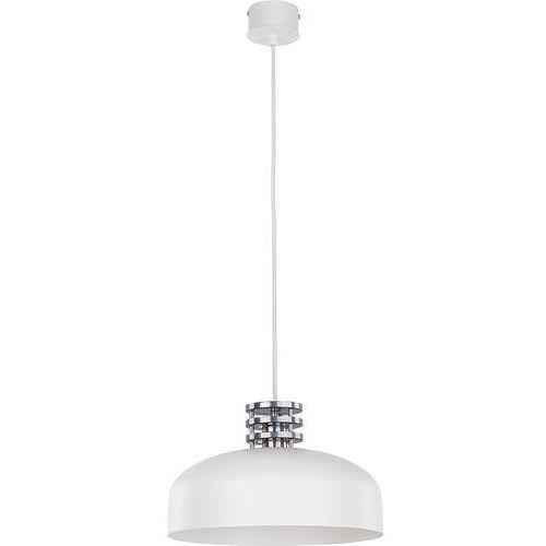 Lampa wisząca Sigma Wawa K biała srebrne dodatki (5902335262816)
