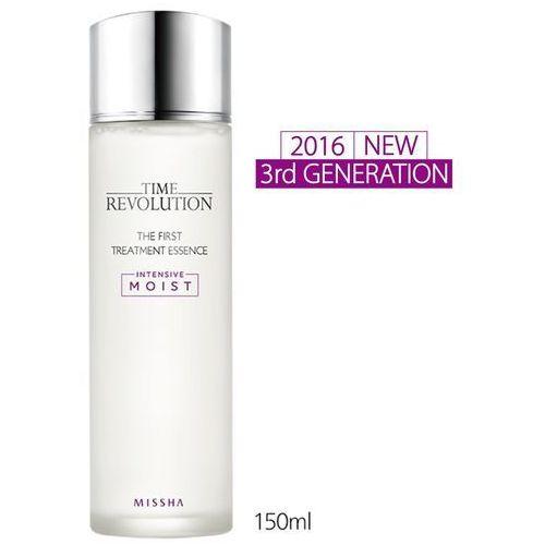 time revolution the first treatment essence intensive moist new 2016 gen3 - 150 ml rewitalizująca esencja do twarzy marki Missha
