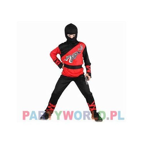 Strój karnawałowy chłopca Ninja Red Dragon, SDZ/87675-5