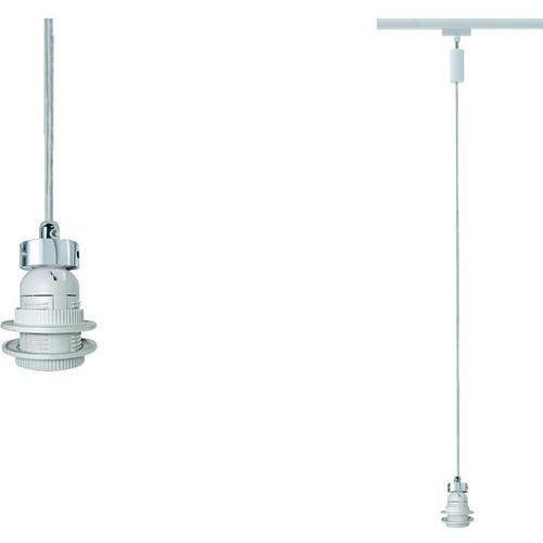 Lampa szynowego systemu oświetlenia  95005 Ural, Lampa energooszczędna, E27, 230 V, 11 W, Biały, Paulmann z Conrad.pl