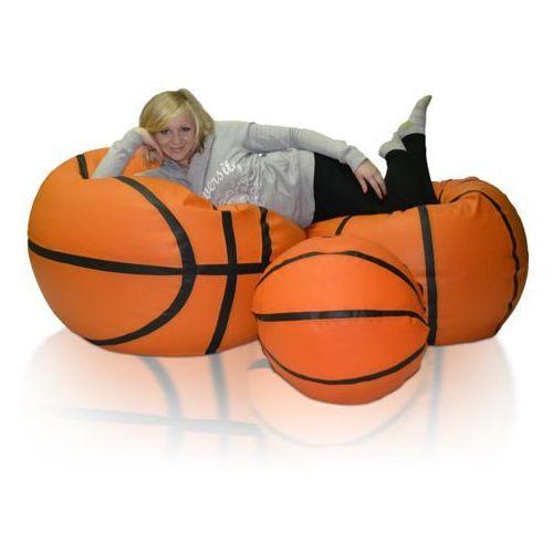 Pufa, basketball - piłka - zestaw xxxl+xxl+l marki Polskie pufy
