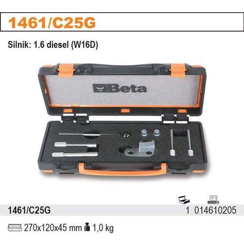 Zestaw narzędzi do blokowania i ustawiania układu rozrządu w silnikach diesla mini 1.6 (w16d), model 1461/c25g od producenta Beta