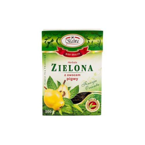Malwa herbata zielona z owocem pigwy 100 gram marki Malwa tea