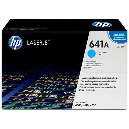Wyprzedaż oryginał toner 641a do color laserjet 4600/4650   8 000 str.   cyan, pudełko otwarte marki Hp