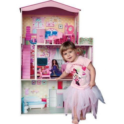 Kolorowy dom dla lalek z windą, marki Woody do zakupu w Mall.pl