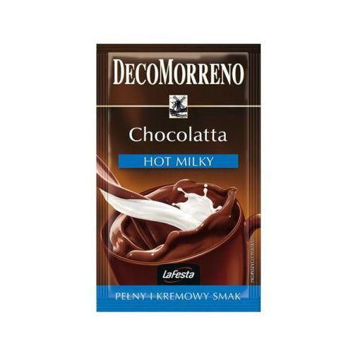 Maspex La festa 25g napój o smaku czekoladowym z mleczną nutą.