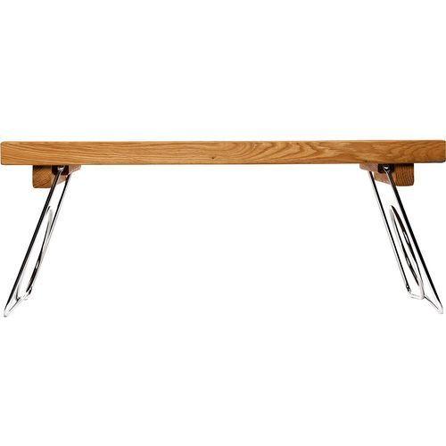 Stolik śniadaniowy z metalowymi, składanymi nogami oak (sf-5016119) marki Sagaform
