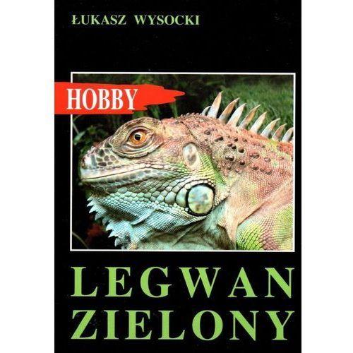 """Książka """"Legwan zielony"""" wyd. Egros"""