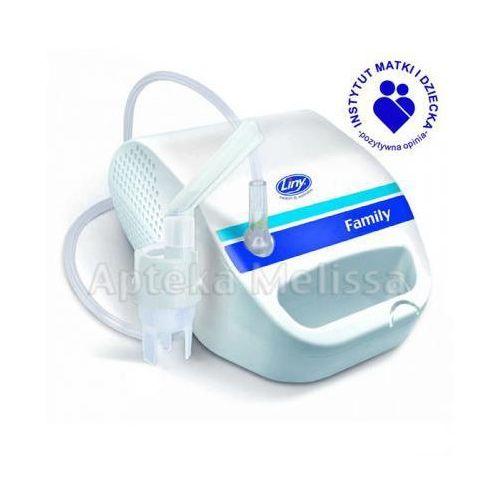 LINY FAMILY Inhalator pneumatyczny - 1 szt. (inhalator)