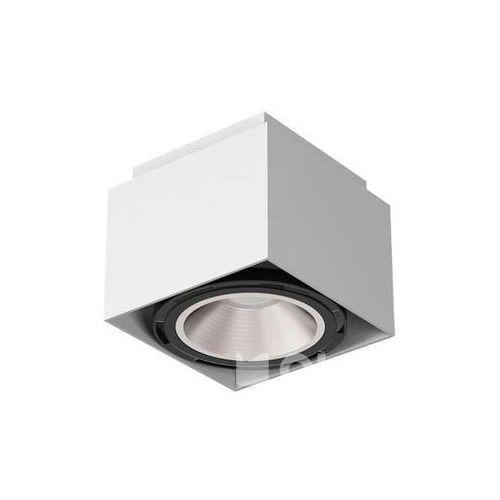 Downlight lampa sufitowa tito t113a2kolor natynkowa oprawa metalowa spot kostka marki Cleoni