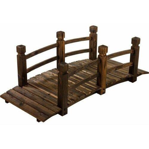 Mks Most na ogród mostek ogrodowy z drewna kładka