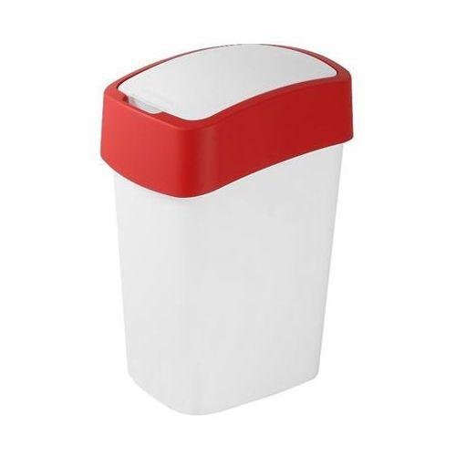 Kosz do segregacji śmieci FLIP BIN 10l czerwony - produkt dostępny w OLE.PL Profesjonalne Rozwiązania Higieniczne