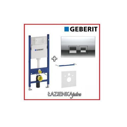 GEBERIT DUOFIX BASIC UP100 Zestaw 4W1 Stelaż podtynkowy do WC H112 + wsporniki + przycisk + uszczelka, kup u jednego z partnerów