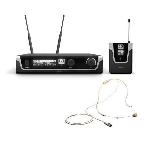u508 bphh mikrofon bezprzewodowy nagłowny, kolor beżowy marki Ld systems