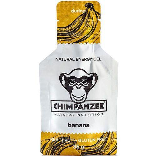 Chimpanzee Energy Gel Sports Nutrition Banana (Vegan) 25 x 35g 2019 Batony i żele energetyczne (8594157872112)
